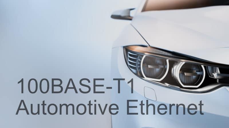Prodigy Technovations 100BASE-T1 Automotive Ethernet Webinar