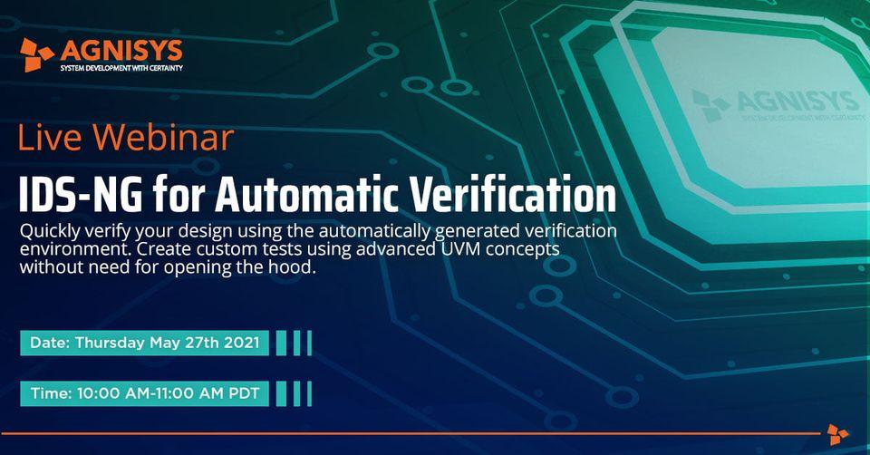 IDS-NG für automatische Verifizierung
