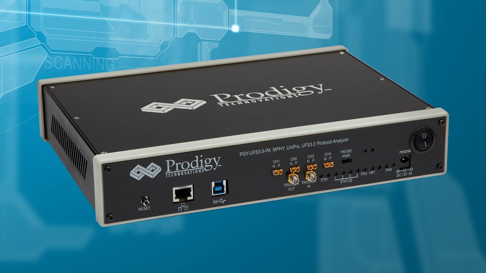 New Prodigy PGY-UFS Protocol Analyzer