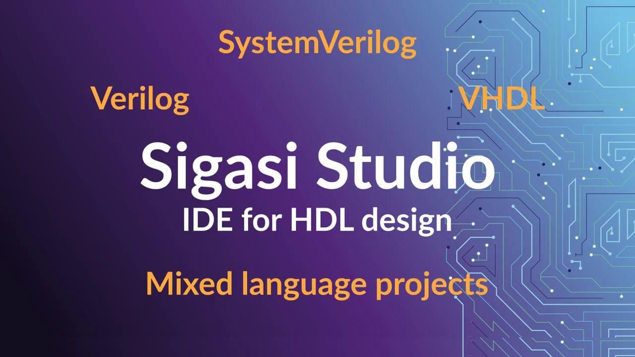 Sigasi Studio Mixed Language